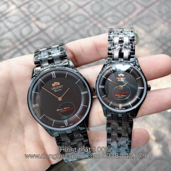 Đồng hồ cặp đôi Orient cao cấp